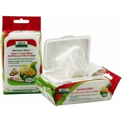 Image of Bamboo Baby Wipes Hand & Face