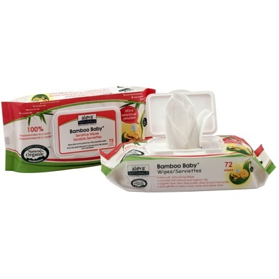 Image of Bamboo Baby Wipes Sensitive