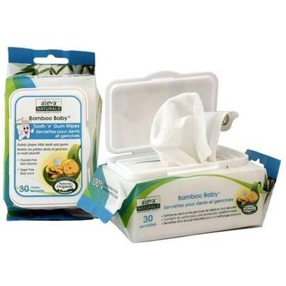 Image of Bamboo Baby Wipes Tooth & Gum
