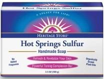 Image of Hot Springs Sulfur Soap Bar