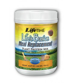 Image of Life's Basics Meal Replacement Powder (Plant Protein Mix) Vanilla
