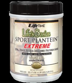 Image of Life's Basics Sport Plantein Extreme Powder Vanilla