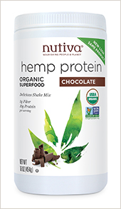 Image of Hemp Protein Shake Powder Organic Chocolate