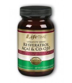 Image of Resveratrol with Acai & CoQ10 200/150/50 mg
