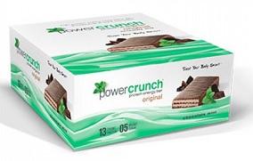Image of Power Crunch Bar Original Chocolate Mint