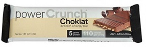 Image of Power Crunch Bar Choklat Crunch Dark Chocolate