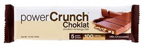 Image of Power Crunch Bar Choklat Crunch Milk Chocolate