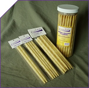 Image of Cylinder Works Ear Candles Herbal Beeswax Cylinders