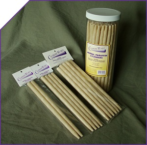 Image of Cylinder Works Ear Candles Herbal Paraffin Cylinders