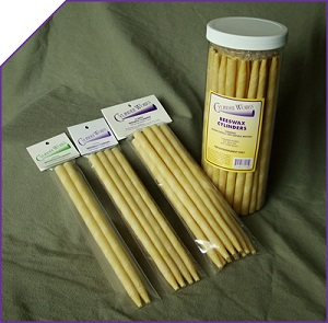Image of Cylinder Works Ear Candles Beeswax Cylinders