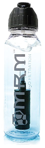 Image of Water Filtration Bottle: (100% BPA Free) - Dishwasher Safe 24 oz.