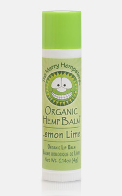 Image of Organic Hemp Lip Balm Lemon-Lime