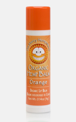 Image of Organic Hemp Lip Balm Mandarin Orange