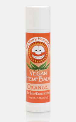 Image of Vegan Hemp Lip Balm Mandarin-Orange