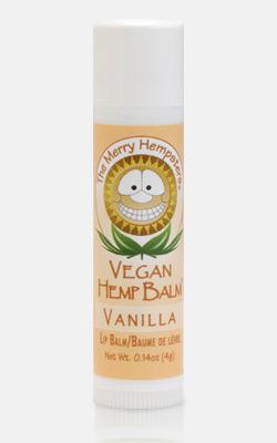 Image of Vegan Hemp Lip Balm Vanilla