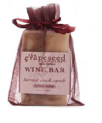 Image of Bar Soap Harvest Crush Syrah Wine