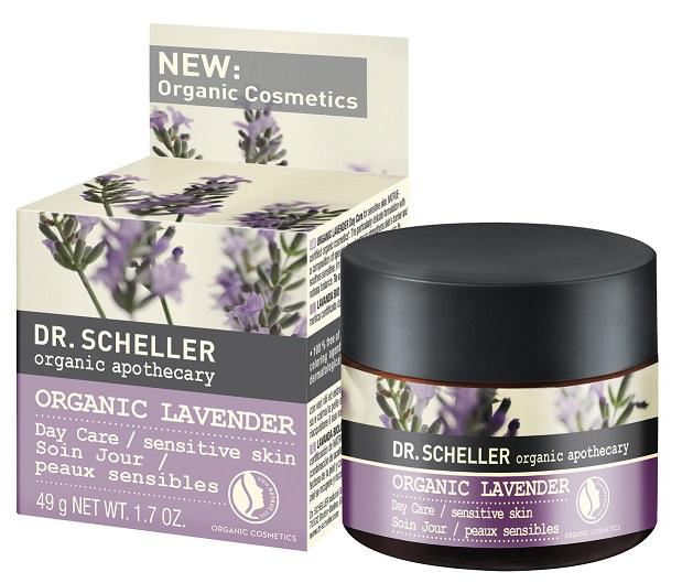 Image of Facial Cream Day Care Sensitive Skin Organic Lavender