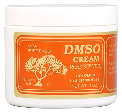 Image of DMSO Cream Rose Scented
