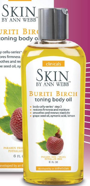 Image of Buriti Birch Toning Body Oil