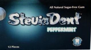 Image of Stevia SteviaDent Gum (sugar-free) Peppermint