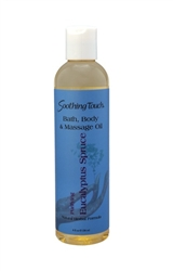 Image of Bath & Body Massage Oil Eucalyptus Spruce