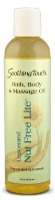 Image of Bath & Body Massage Oil Nut Free Lite Unscented