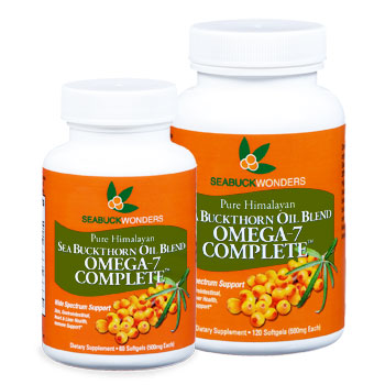 Image of Sea Buckthorn Oil Blend Omega 7 Complete