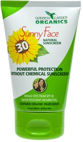Image of Sunny Face Natural Facial Sunscreen SPF 30