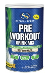 Image of Pre Workout Drink Mix Powder Unflavored