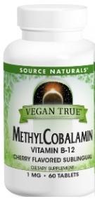 Image of Vegan True Methylcobalamin Vitamin B-12