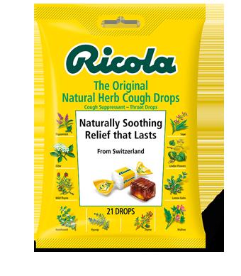Image of Herbal Throat Drops Bag Original Herb