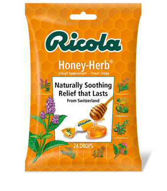 Image of Herbal Throat Drops Bag Original Honey-Herb