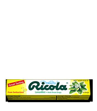 Image of Herbal Throat Drops Stick Lemon-Mint Case