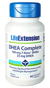 Image of DHEA Complete 100 mg 7-Keto DHEA & 25 mg DHEA,