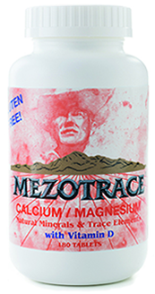 Image of Mezotrace Calcium/Magnesium Natural Minerals & Trace Elements Plus Vit D