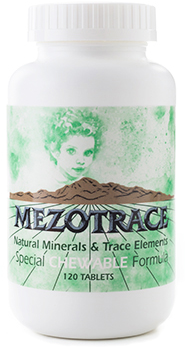 Image of Mezotrace Minerals & Trace Elements Chewable Formula