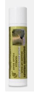 Image of Endangered Wildlife Organic Lip Balm Vanilla (Polar Bear)