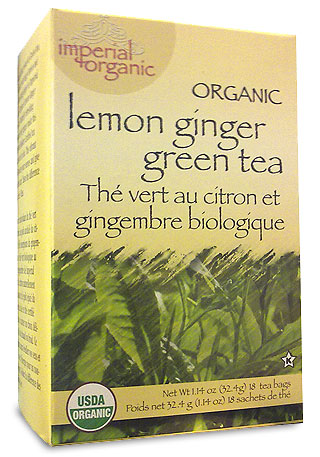 Image of Imperial Organic Lemon Ginger Green Tea