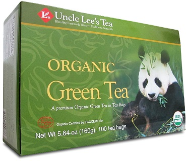Image of Legneds of China Organic Green Tea