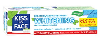 Image of Toothpaset Whitening Gel ANTICAVITY FLUORIDE Peppermint