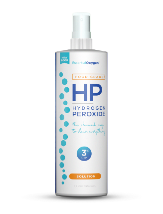 Image of Essential Oxygen Food Grade Hydrogen Peroxide Solution 3% Spray