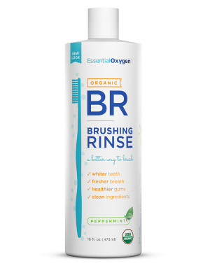 Image of Essential Oxygen Brushing Rinse Organic Peppermint