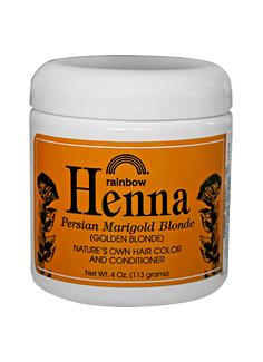 Image of Henna Persian Marigold Blonde Jar