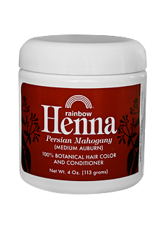 Image of Henna Persian Mahogany Jar