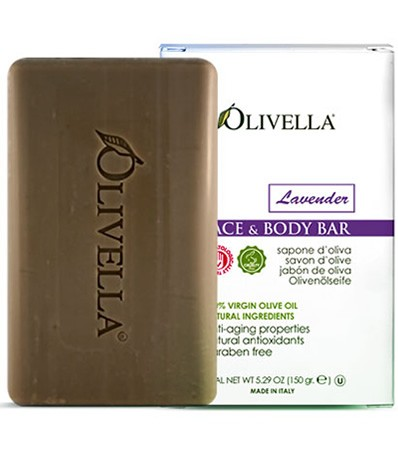 Image of Olivella Face & Body Bar Soap Lavender