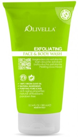 Image of Olivella Face & Body Wash Exfoliating