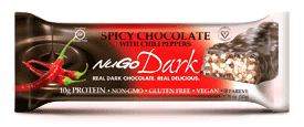Image of NuGO Dark Bar Spicy Chocolate with Chili Peppers
