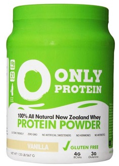 Image of Only Protein Whey Protein Powder Vanilla