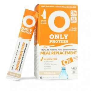 Image of Only Protein Whey Meal Replacement Powder Vanilla Sticks