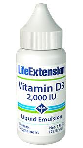 Image of Vitamin D3 2,000 IU Liquid Emulsion